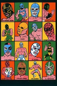 Ken Brown's Mexican Wrestlers are beautiful.