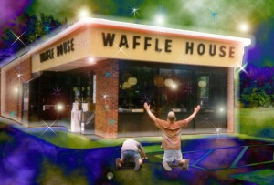 These boys worship WaHo. I pledge to always drive them so they don't have to sneak out and walk.