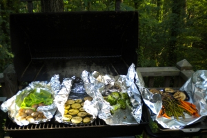 Who needs meat on the Memorial Day grill?