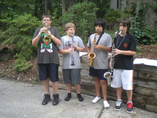 The Serenading Hoodlum Quartet